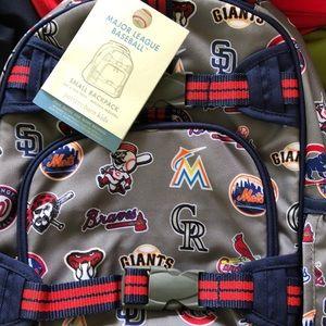 NWT PBK MLB Backpack - SMALL
